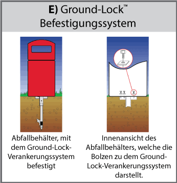 Ground-Lock™ Befestigungssystem