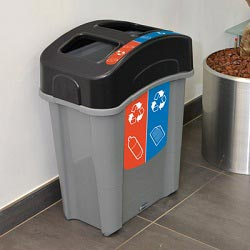 Eco Nexus® Duo Recycling-Behälter