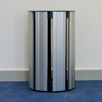 Fusion Abfallbehälter 60L - silber