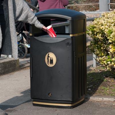 Futuro abfallbeh lter - Rd rubbish bin ...