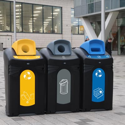 Nexus® City Recyclingbehälter