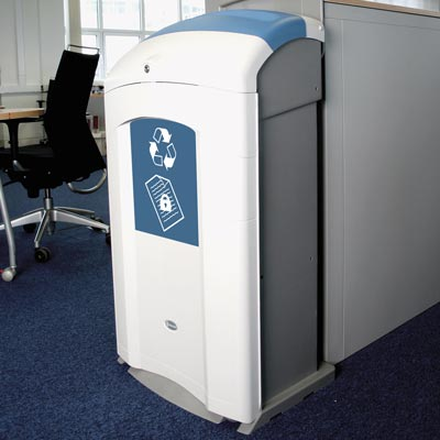 nexus 100 recycling beh lter f r vertrauliche dokumente. Black Bedroom Furniture Sets. Home Design Ideas