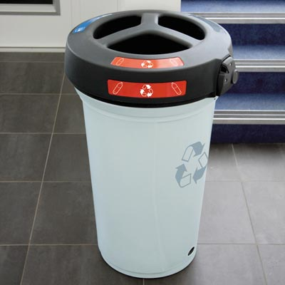 Nexus® 130 Trio Recycling-Behälter